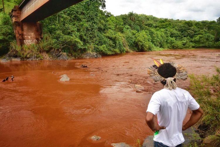 Cidades - catástrofes - rompimento barragem Brumadinho Vale meio ambiente desastres mineração poluição rio Paraopeba índios
