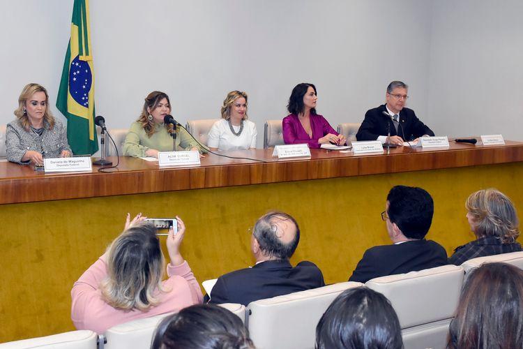 Reunião da Bancada Feminina com a Primeira Secretária, dep. Soraya Santos (PL-RJ)