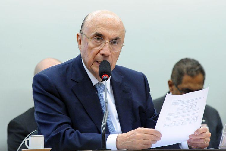 Reunião ordinária com o ministro da Fazenda, Henrique Meirelles