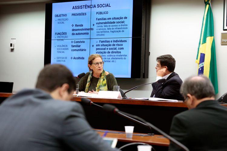 Audiência pública  sobre a Política Nacional de Assistência Social do Sistema Único de Assistência Social - SUAS e um balanço do Programa ·Criança Feliz· e as questões financeiras e orçamentárias que envolvem a execução da Política