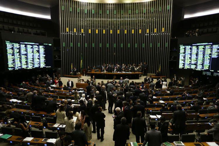 Câmara - plenário - votação