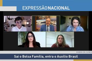 Capa - Sai o Bolsa Família, entra o Auxílio Brasil