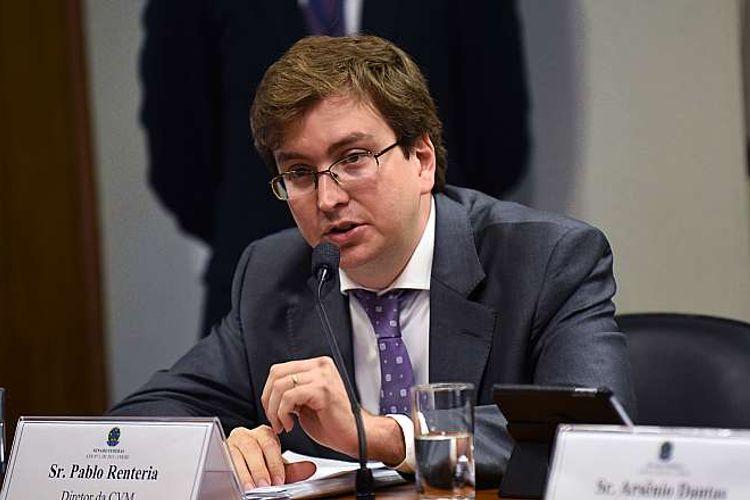 Audiência Pública. Diretor da CVM, Pablo Renteira