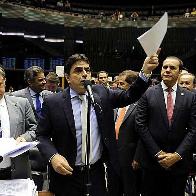 Sessão destinada à leitura de expedientes e apreciação dos Vetos Presidenciais. Dep. Cesar  Domingos Sávio (PSDB-MG)