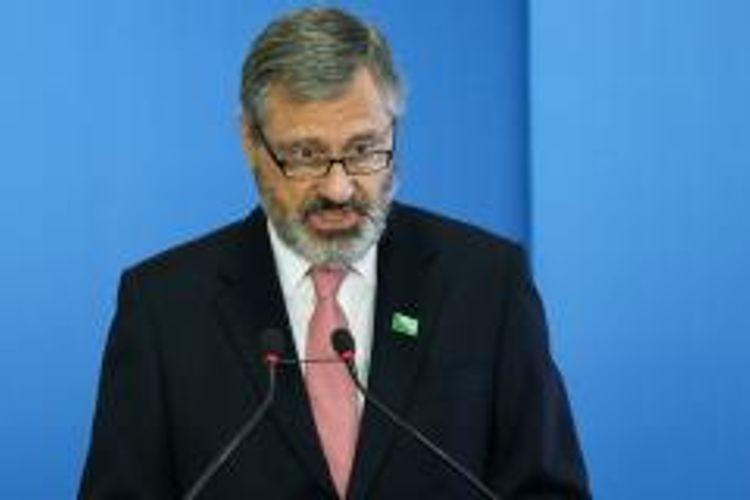 política// geral//ministro da Transparência, Fiscalização e Controle, Torquato Jardim, durante a cerimônia de sua posse no Palácio do Planalto
