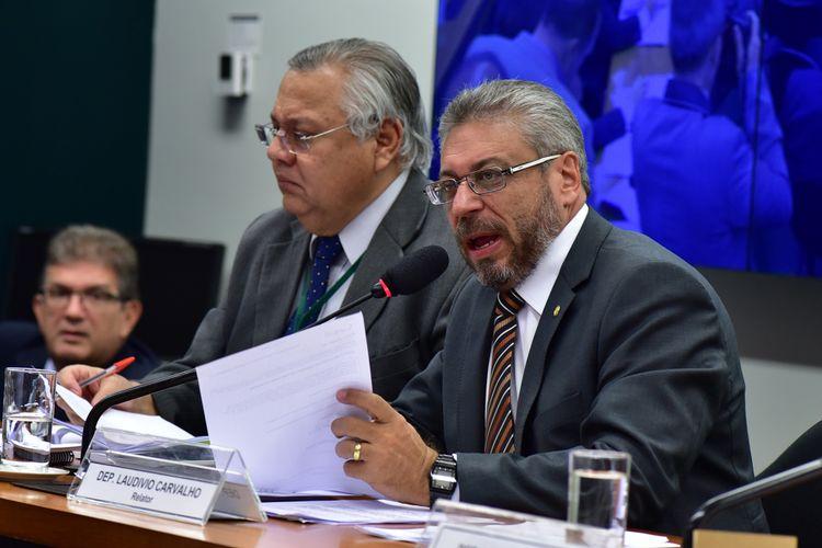 Reunião para discussão e votação do parecer do relator, dep. Laudivio Carvalho (PMDB-MG)