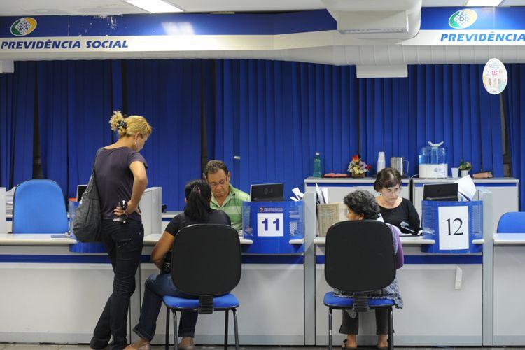 Trabalho - previdência - INSS aposentados aposentadorias pensões atendimento serviço público
