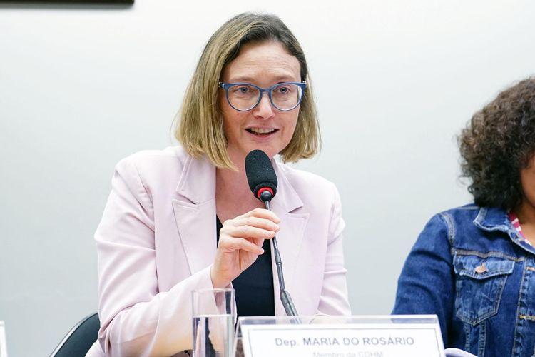 Audiência pública sobre os atos de ódio, discriminação e intolerância na internet. Dep. Maria do Rosário (PT - RS)
