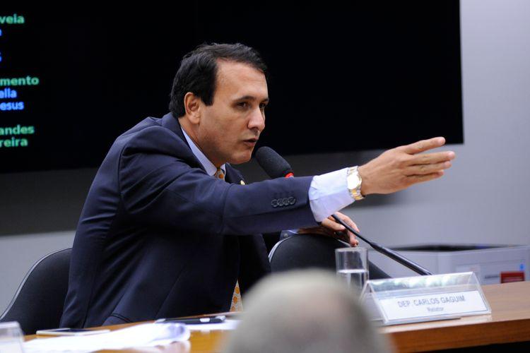 Reunião ordinária para discussão e votação do parecer do relator, dep. Carlos Henrique Gaguim (PMDB/TO)