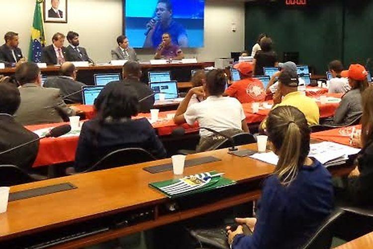 Audiência da Comissão de Direitos Humanos e Minorias da Câmara