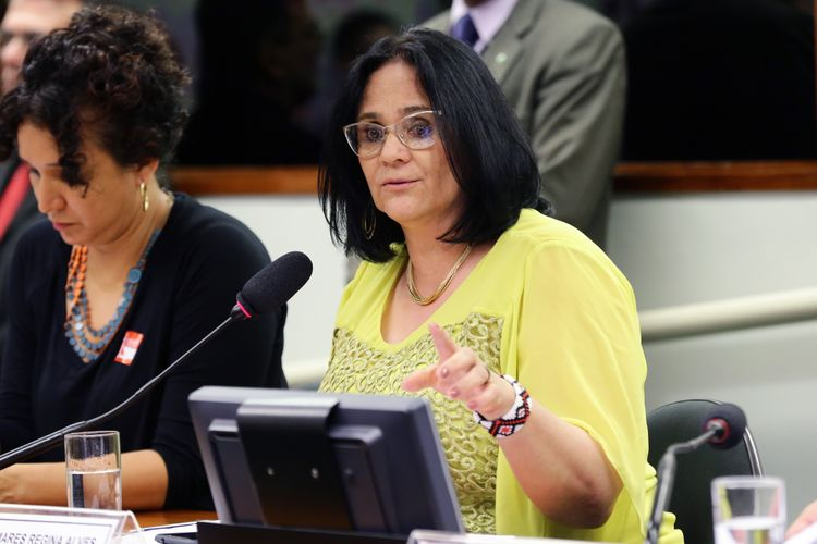 Audiência pública sobre a situação dos Conselhos e Comissões no âmbito do Poder Executivo. Ministra de Estado da Mulher, da Família e dos Direitos Humanos, DAMARES REGINA ALVES