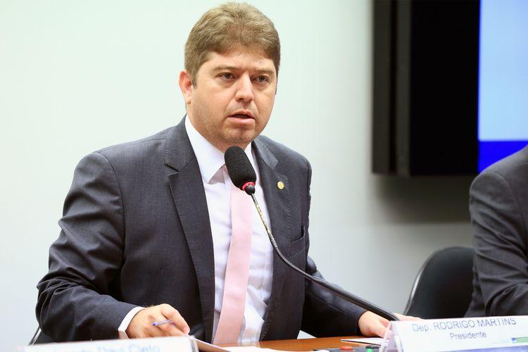 Audiência pública para debater sobre a recuperação judicial da operadora Oi. Dep. Rodrigo Martins (PSB - PI)