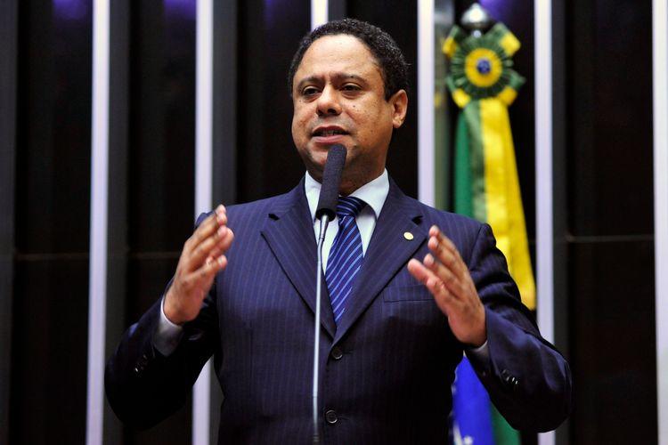 Sessão extraordinária para eleição do novo presidente da Câmara dos Deputados. Candidato a presidência, dep. Orlando Silva (PCdoB - SP)