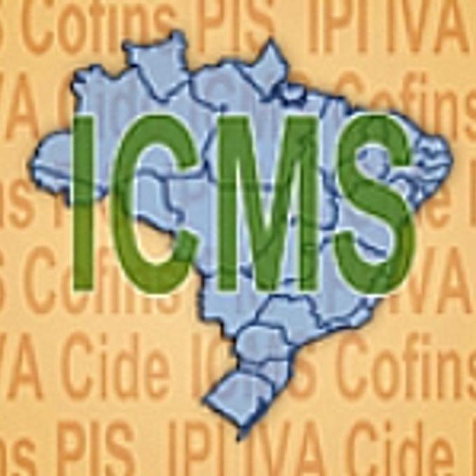 Economia - Tributos - ICMS - Selo grande ICMS