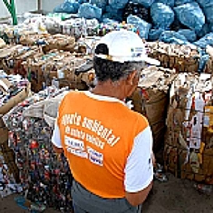 Meio Ambiente - Lixo e Reciclagem - Lixo para reciclagem