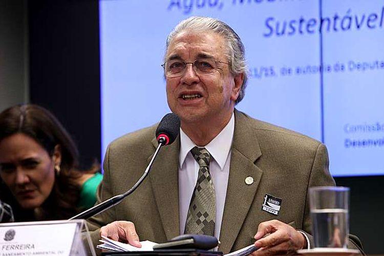 Audiência pública sobre as prioridades relacionadas ao Saneamento, Abastecimento de Água, Mobilidade e Habitação Sustentável. Secretário Nacional de Saneamento Ambiental do Ministério das Cidades, Paulo Ferreira