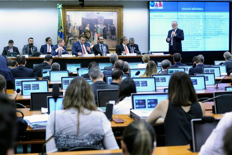 Audiência pública sobre a PEC 6/19, a nova previdência