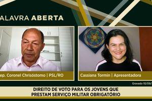 Capa - Direito de voto para os jovens que prestam serviço militar obrigatório
