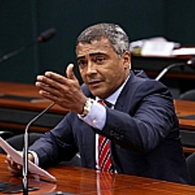 Audiência pública sobre a atual situação do doping no esporte brasileiro. Dep. Romário (PSB-RJ)