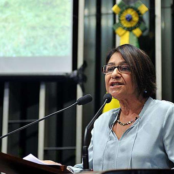 Sessão solene do Congresso Nacional em memória dos 25 anos da morte do líder seringueiro Chico Mendes. Dep. Janete Capiberibe (PSB-AP)