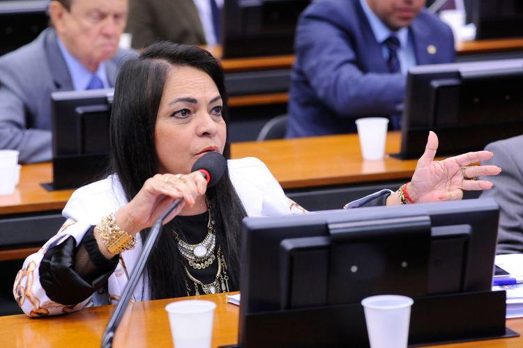Audiência pública para debate sobre o Projeto de Lei nº 4567, de 2016, que altera a Lei nº 12.351, de 22 de dezembro de 2010, para facultar à Petrobras o direito de preferência para atuar como operador e possuir participação mínima de 30% (trinta por cento) nos consórcios formados para exploração de blocos licitados no regime de partilha de produção. Dep. Moema Gramacho (PT-BA)