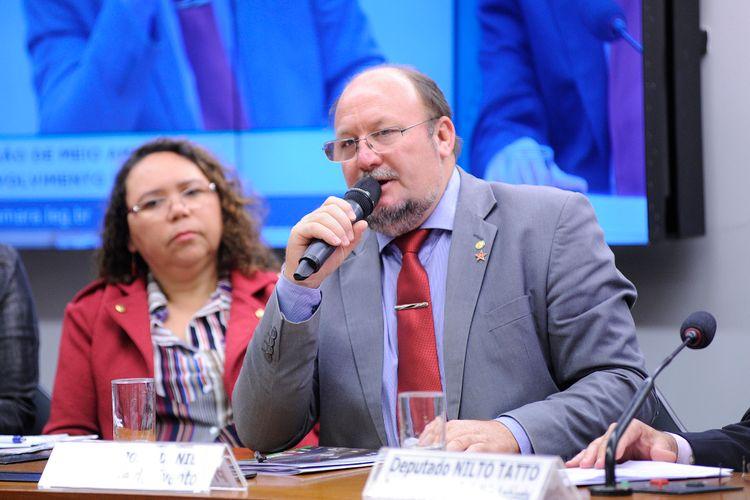 Audiência pública sobre os efeitos dos agrotóxicos no meio ambiente e na saúde. Dep. João Daniel (PT - SE)