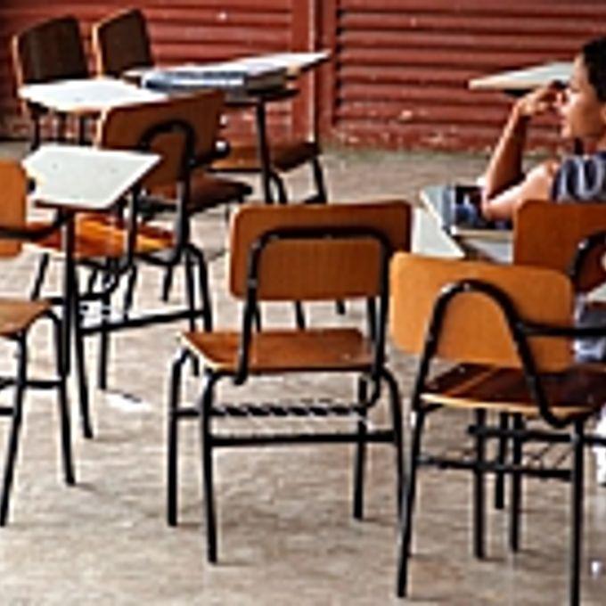 Educação - Sala de Aula - Sobradinho (DF) - Centro de Ensino Fundamental Fercal obteve a menor média no Enem entre as escolas públicas do Distrito Federal