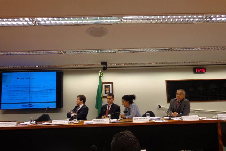 Agropecuária - Geral - Audiência pública da Comissão de Agricultura sobre licenciamento para aquicultura