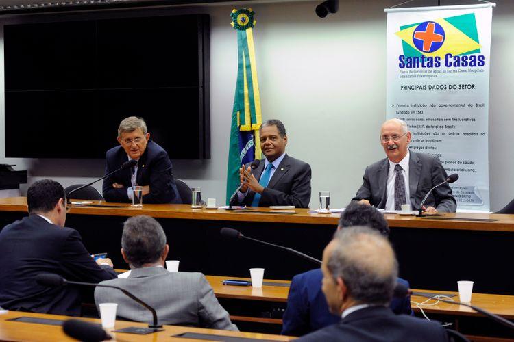 Reunião de instalação da Frente Parlamentar