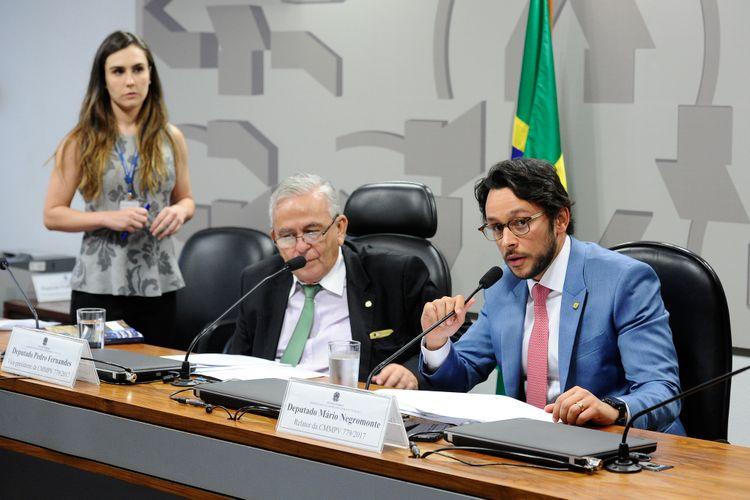 Comissão Mista da MP 779.17 - Relator dep. Mário Negromonte Jr.