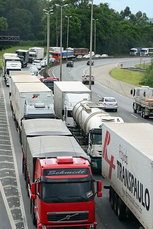 Paralisação de caminhoneiros pelo Brasil - Santa Catarina