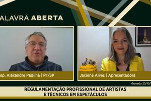 Capa - Regulamentação profissional de artistas e técnicos em espetáculos