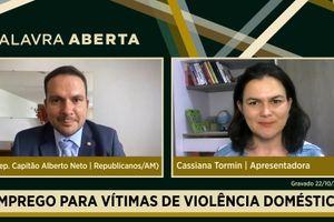 Capa - Emprego para vítimas de violência doméstica