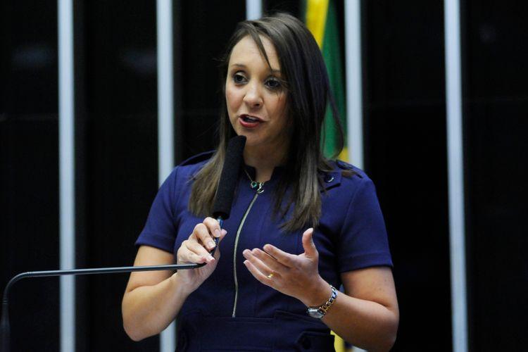 Sessão solene em homenagem ao vigésimo aniversário de fundação do Partido Humanista da Solidariedade (PHS). dep. Renata Abreu (PTN-SP)