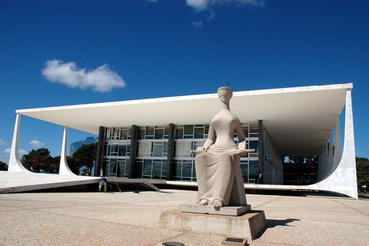 Brasília - Monumentos e prédios públicos - Supremo Tribunal Federal - STF