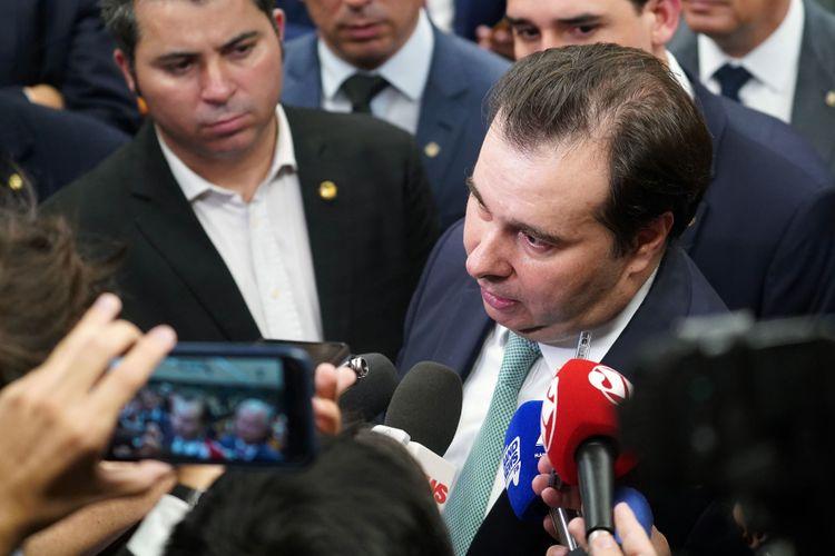 Reunião ordinária. Presidente da câmara dep. Rodrigo Maia (DEM-RJ)