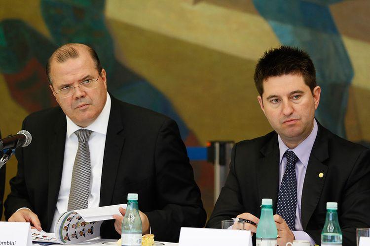 Presidente do Banco Central, Alexandre Tombini, participa de reunião na Comissão de Finanças e Tributação, a pedido do deputado Jerônimo Goergen (PP-RS).