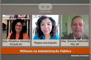 Capa - Militares na Administração Pública