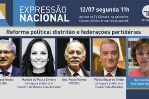 Capa - Reforma política: distritão e federações partidárias