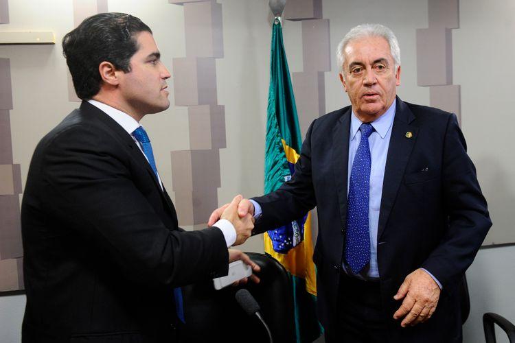 Comissão mista da MP 766 - Programa de Regularização Tributária - deputado Newton Cardoso Júnior (PMDB-MG) senador Otto Alencar (PSD-BA)