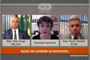 Capa - Ações de combate ao terrorismo