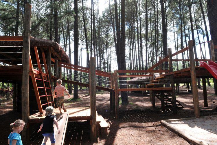 Turismo - geral - ecoturismo crianças infantil brincadeiras parques natureza meio ambiente